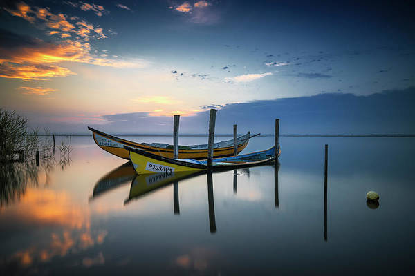 Horizons Photograph - The Boats by Rui Ribeiro