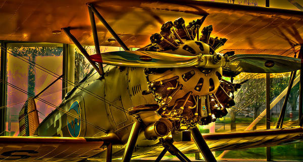 Photograph - The Boeing Model 100 P-12 by David Patterson