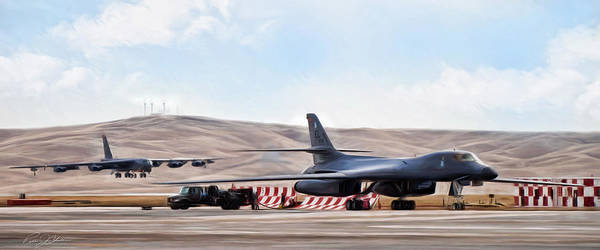 Boeing Digital Art - The Bone And The Buff by Peter Chilelli