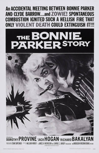 Wall Art - Photograph - The Bonnie Parker Story, Dorothy by Everett