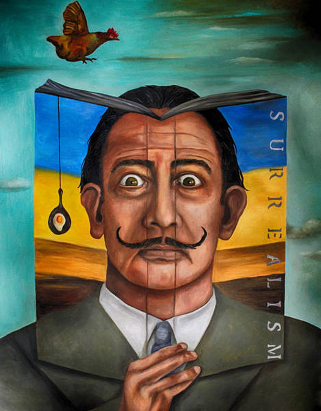 Salvador Dali Painting - The Book Of Surrealism Edit 2 by Leah Saulnier The Painting Maniac