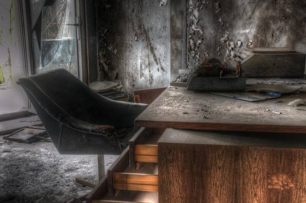 Wall Art - Digital Art - The Boss's Chair  by Nathan Wright