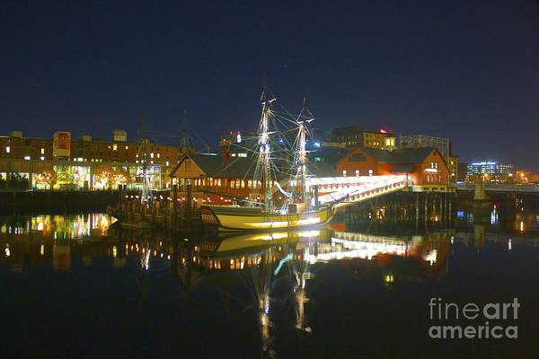 Photograph - The Boston Tea Party Museum by Amazing Jules