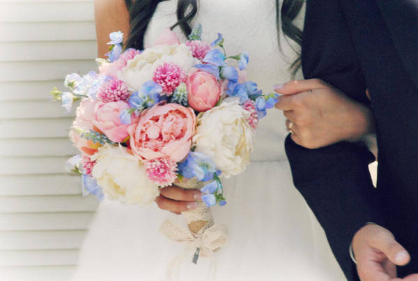 Wedding Bouquet Photograph - The Bouquet by Chastity Hoff