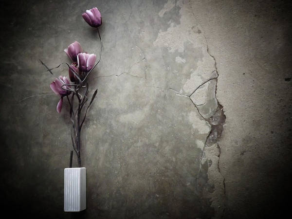 Vases Photograph - The Bouquet by Kahar Lagaa