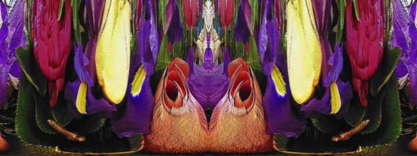 Unleashed Digital Art - The Bouquet Unleashed 100 by Tim Allen
