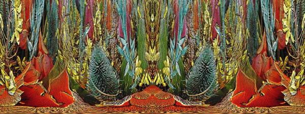 Unleashed Digital Art - The Bouquet Unleashed 15 by Tim Allen