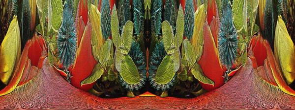 Unleashed Digital Art - The Bouquet Unleashed 16 by Tim Allen