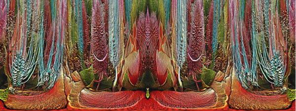 Unleashed Digital Art - The Bouquet Unleashed 18 by Tim Allen