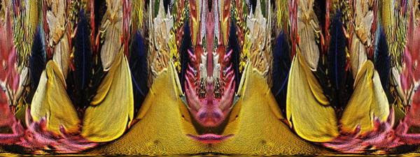 Unleashed Digital Art - The Bouquet Unleashed 19 by Tim Allen