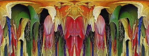 Unleashed Digital Art - The Bouquet Unleashed 2 by Tim Allen