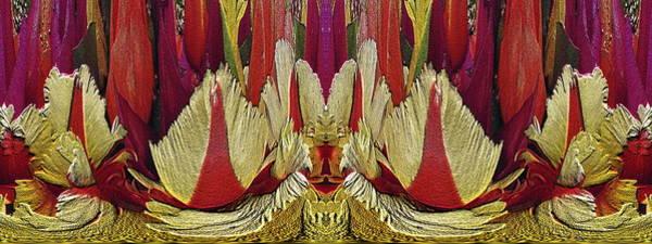 Unleashed Digital Art - The Bouquet Unleashed 20 by Tim Allen