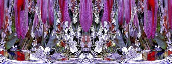 Unleashed Digital Art - The Bouquet Unleashed 23 by Tim Allen