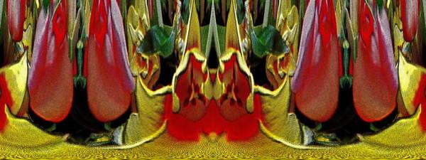 Unleashed Digital Art - The Bouquet Unleashed 25 by Tim Allen