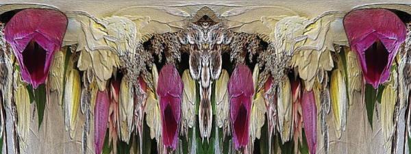 Unleashed Digital Art - The Bouquet Unleashed 3 by Tim Allen