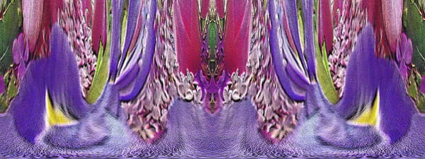 Unleashed Digital Art - The Bouquet Unleashed 33 by Tim Allen