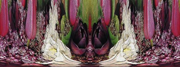 Unleashed Digital Art - The Bouquet Unleashed 34 by Tim Allen