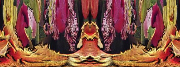Unleashed Digital Art - The Bouquet Unleashed 40 by Tim Allen