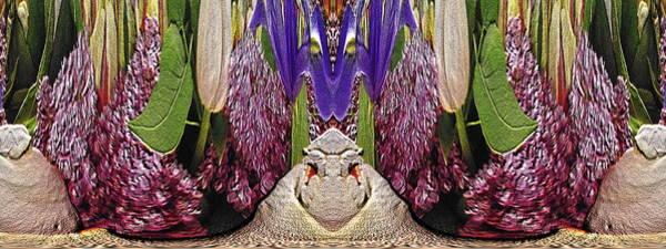 Unleashed Digital Art - The Bouquet Unleashed 51 by Tim Allen