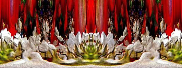 Unleashed Digital Art - The Bouquet Unleashed 66 by Tim Allen