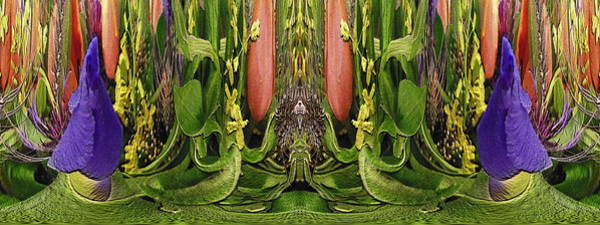 Unleashed Digital Art - The Bouquet Unleashed 74 by Tim Allen