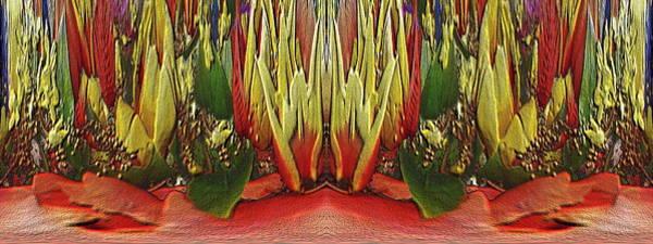 Wall Art - Digital Art - The Bouquet Unleashed 87 by Tim Allen