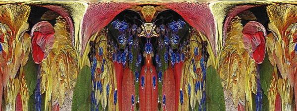 Unleashed Digital Art - The Bouquet Unleashed 9 by Tim Allen