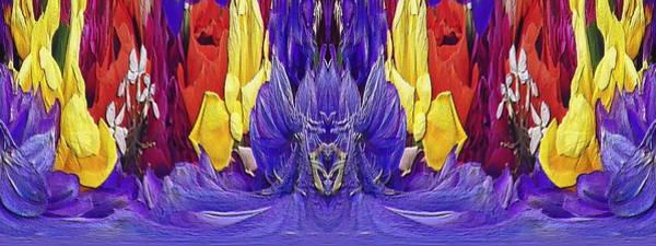 Unleashed Digital Art - The Bouquet Unleashed 98 by Tim Allen