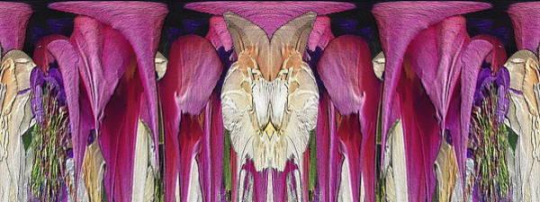 Unleashed Digital Art - The Bouquet Unleashed by Tim Allen