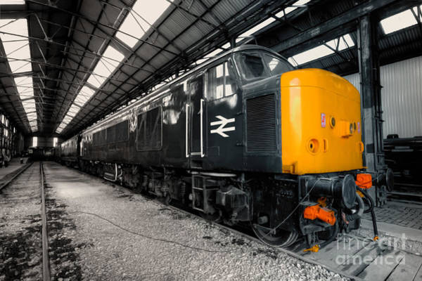 Electric Peak Wall Art - Photograph - The Br Class 45  by Rob Hawkins