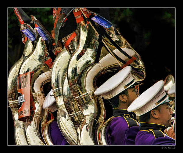 Photograph - The Brace Band by Blake Richards