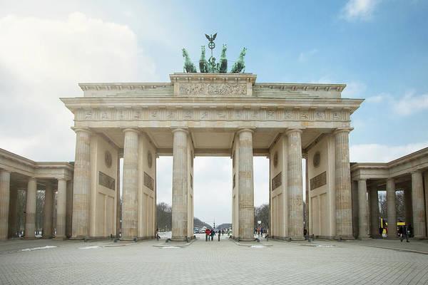 Brandenburg Gate Photograph - The Brandenburg Gate by Images By Fabio