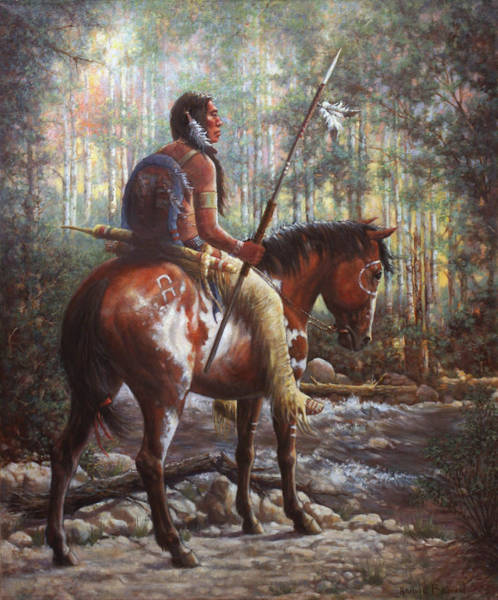 Wall Art - Painting - The Brave by Harvie Brown