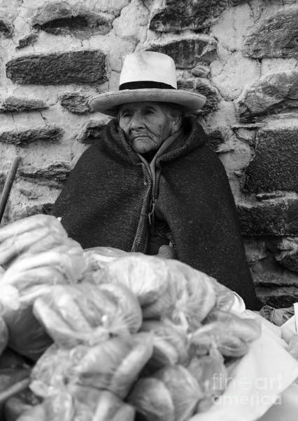 Photograph - The Bread Seller by James Brunker