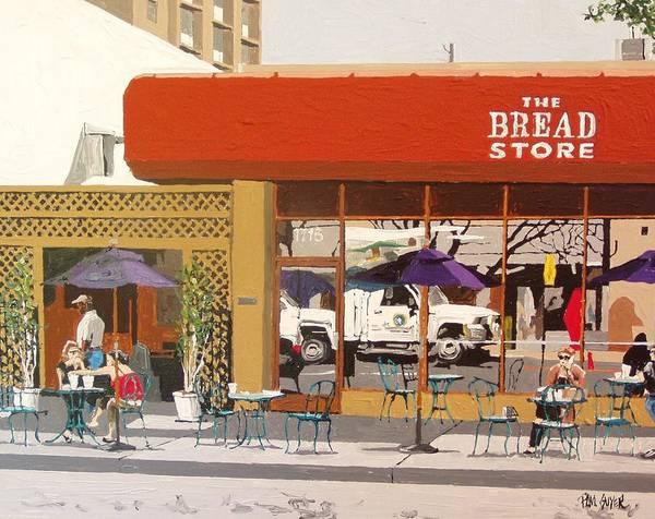 The Bread Store In Midtown Art Print by Paul Guyer