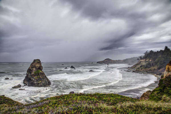 Rogue River Wall Art - Photograph - The Brewing Storm by Debra and Dave Vanderlaan