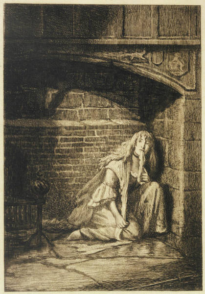 Wall Art - Drawing - 'the Bride Of Lammermoor'  Lucy's by Mary Evans Picture Library