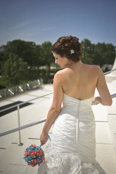 Wall Art - Photograph - The Bride's Back by Mike Hope