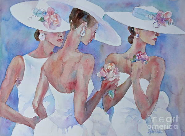 Lady In Waiting Painting - The Bridesmaids by Sherri Crabtree