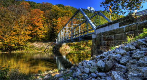 Photograph - The Bridge Over Beaver Creek by David Dufresne