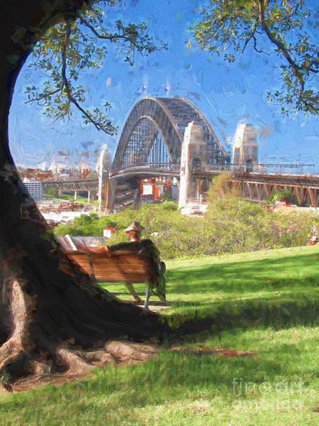 Wall Art - Photograph - The Bridge by Sheila Smart Fine Art Photography