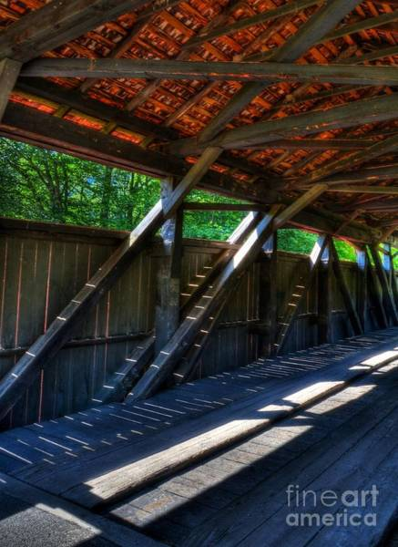 Photograph - The Bridge Timbers by Mel Steinhauer