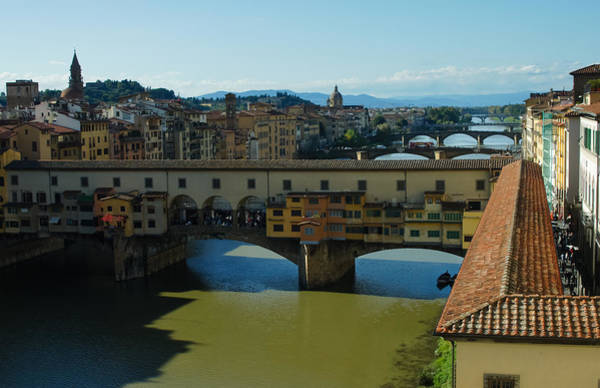 Photograph - The Bridges Of Florence Italy by Georgia Mizuleva