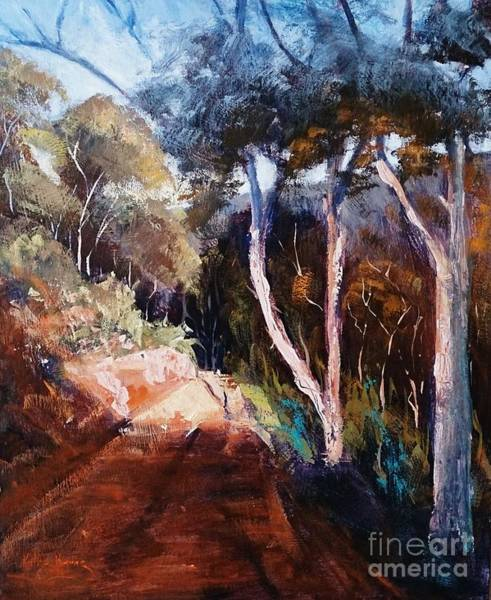 Painting - The Bridle Track by Kathy  Karas