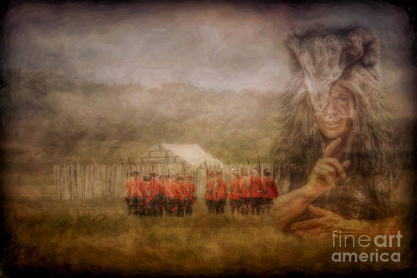 Shaman Digital Art - The British Are Here by Randy Steele