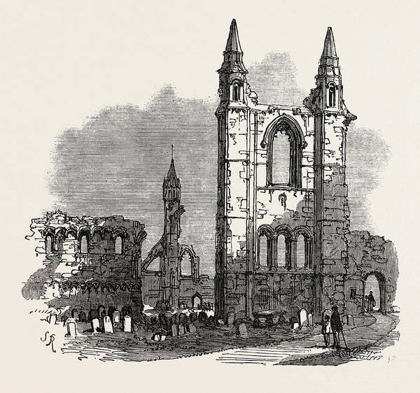 Church Of Scotland Wall Art - Drawing - The British Association At Dundee Cathedral Of St by English School