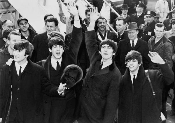 New Wave Music Photograph - The British Invasion 1964 by Mountain Dreams