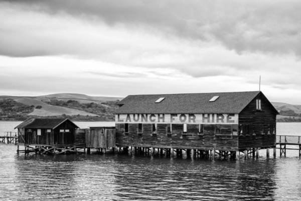 Photograph - The Brock Schreiber Boathouse by Priya Ghose