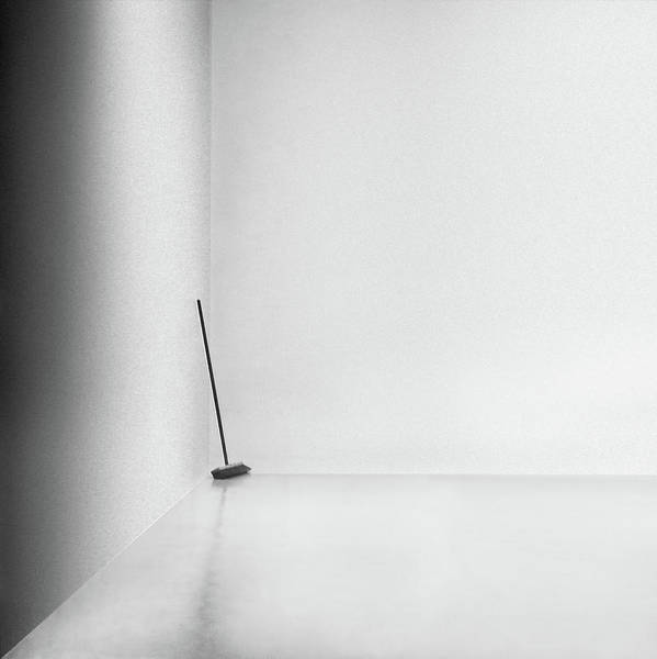 Minimalistic Photograph - The Broom by Gilbert Claes