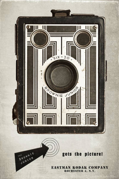Wall Art - Photograph - The Brownie Junior Six-20 Camera by Tom Mc Nemar